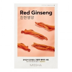 Missha, Маска Airy Fit Red Ginseng, 26 г
